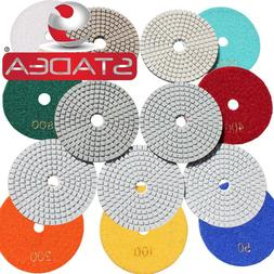Diamond Polishing Pads 4 inch WetDry Granite Concrete Marble