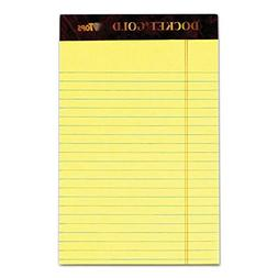 TOPS 63900 Docket Ruled Perforated Pads, Narrow Rule, 5 x 8,