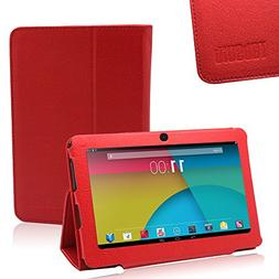 TabSuit Dragon Touch Y88X Plus PU Leather Case Stand Cover f