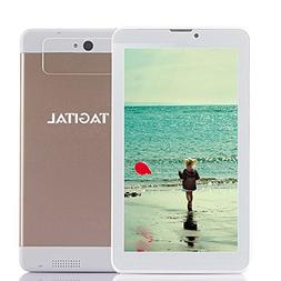 "Tagital 7"" Dual Core 3G Phablet, Android Phone Tablet, Andro"