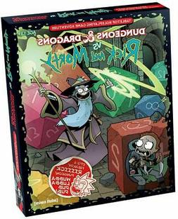 Dungeons & Dragons vs Rick and Morty : Tabletop Roleplaying