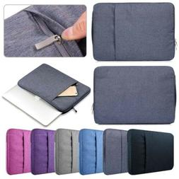 "Durable Case Bag Soft Denim Cover Sleeve Pouch For 11"" 11.5"""