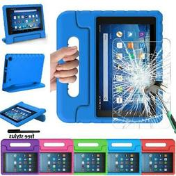 EVA Handle Kids Stand Cover Case + Screen Protector For Amaz