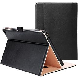 Fire HD 10 Case  - ProCase Leather Stand Folio Case Cover fo