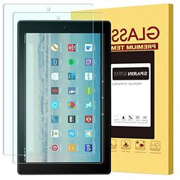 Fire HD 10 Screen Protector, SPARIN Tempered Glass Screen P
