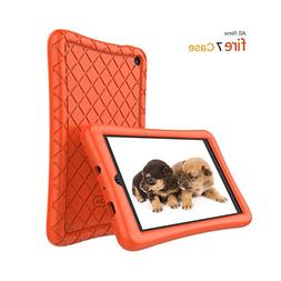 Fire 7 Tablet Case,Soft Silicone Case for All-New Amazon Fir