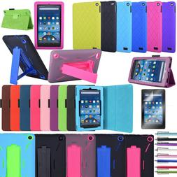 Fire 7 case Full body Cover Case For 2017 /2019 Amazon Fire