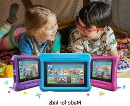 "Amazon Fire7 Kids Edition 9th Gen Tablet with Alexa 7"" Displ"