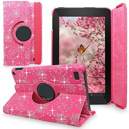 Fire 7 2015 Case, Cellularvilla  Premium Pu Leather 360 Degr