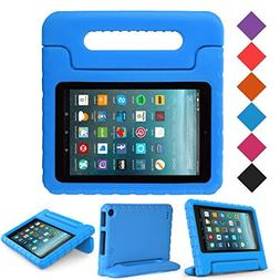 BMOUO Case for All New Amazon Fire 7 2017 - Light Weight Sho