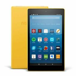 "Fire HD 8 Tablet with Alexa, 8"" HD Display, 16 GB, Canary Ye"