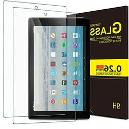 IVSO All-New Fire HD 10 Tablet Screen Protector Glass,   Tem