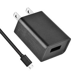 Charger for kindle, UL Listed 2A AC Adapter with 3.3ft Micro