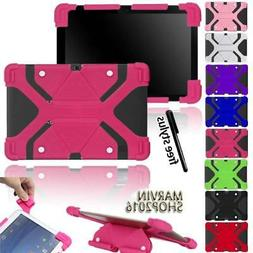 """Fit Various 10"""" Tablet - Universal Shockproof Silicone Stand"""