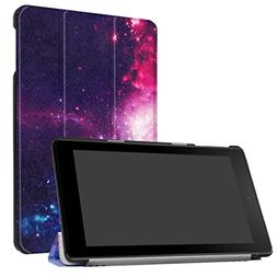 Dreamyth Folding Stand Leather Case Cover For Amazon Kindle