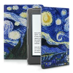 Infiland Folio Case Cover For All-New Kindle E-reader 6 inch