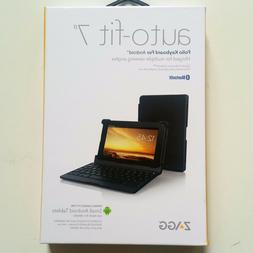 NEW ZAGG Folio Case Hinged with Bluetooth Keyboard Android T