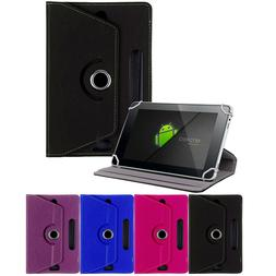 Folio Leather Box Case Cover For Universal Android Tablet PC