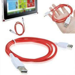 USB Date Cord Charger for Nabi DREAMTAB HD8 Kids Tablet FUHU