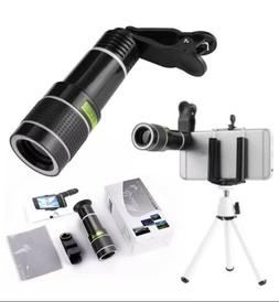 HD 12x Zoom Lens for Smartphone Cell phone Telephoto Tablet