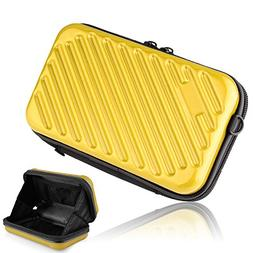 "Hltd 2.5"" HDD Hard Drive Case Travel Storage Carrying Case B"