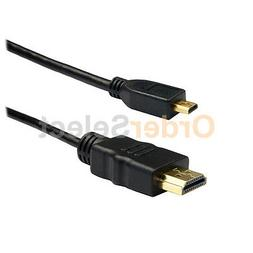 3FT HDMI to Micro HDMI Cable for Smartphone Tablet Amazon Ki