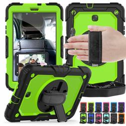 Heavy Duty Stand Case & Strap For Samsung Galaxy Tab A 8.0""