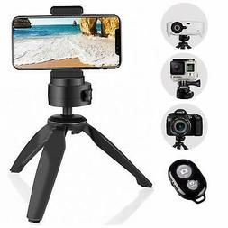 Heavy Duty Tripod, UBeesize Phone Camera Tabletop Mini Tripo