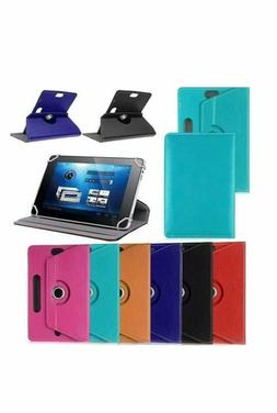 "UNIVERSAL 7"" inch Leather Protective Stand Case Cover for An"