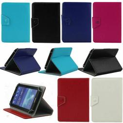 Universal Stand Leather Case Cover For 2017 Verizon ASUS Zen