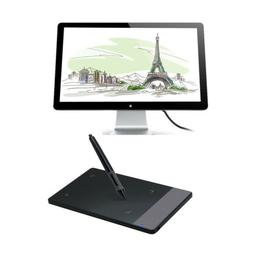 Huion 420 Graphic Tablet,PC/Mac OS,LCD Display Art Drawing B