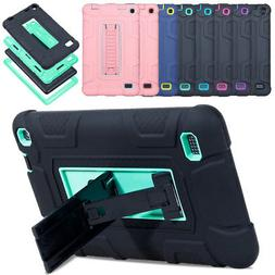 Hybrid Shockproof Heavy Tablet Case Cover For Amazon Kindle