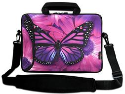 """AUPET 9.7"""" 10"""" 10.1"""" 10.2"""" Inch Neoprene Laptop Bag with Ext"""