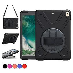 New iPad Pro 10.5 Case, TSQ Heavy Duty Carrying Rugged Prote