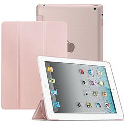 Infiland iPad 4/3/2 Case - Shockproof Smart Slim Case with F