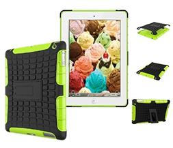 New Ipad Case Shockproof Rugged Hard with Screen Protector S
