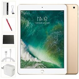 Apple iPad 9.7 inch 32GB Gold Generation 5 Accessories Bundl