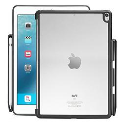KHOMO - iPad Pro 10.5 Inch Hybrid Clear Case With Pen Holder