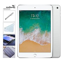 Apple iPad Mini 4 128GB W/Saiborie 49.99 Value Accessories,