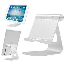 iPad Stand Adjustable Aluminum Tablet Stand, Desktop Stand H