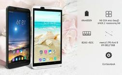 IPS 8'' Tablet Quad Core Android 6.0 Unlocked 4G Google Blue
