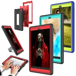 Kickstand Tablet Case Cover For Amazon All-New Fire HD 8 201