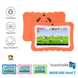"Kids 7"" Tablet PC 16GB Android6.0 Wifi Quad Core Educational"