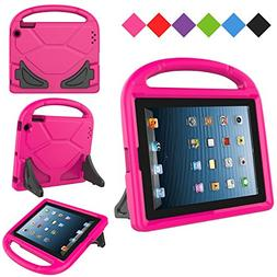 Kids Case for Apple iPad 2 3 4 , MENZO Light Weight Shockpro