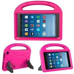 Kids Case for Fire HD 8 - TIRIN Light Weight Shock Proof Han