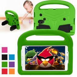 Kids Handle Shockproof Stand Soft Case Cover For Samsung Gal