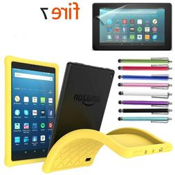 Kids Safe ShockProof Silicone Gel Protective Case for Amazon