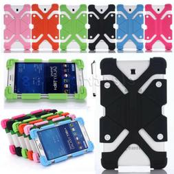 Universal Kids Safe Stand Shockproof Silicone Case Cover For