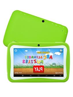 HD 7 Inch Kids Edition Tablet, Hipo Android 4.4 Kids Pad Tab