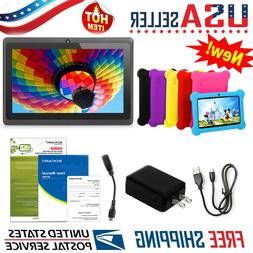 "Kids Tablet PC 7"" Android 4.4 Dual Camera 1.3Ghz Wi-Fi with"